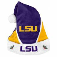 LSU Tigers Colorblock Santa Hat