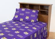 LSU Tigers Dark Bed Sheets