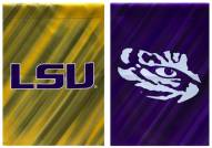 LSU Tigers Double Sided House Flag