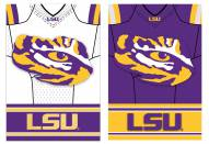 LSU Tigers Double Sided Jersey Flag