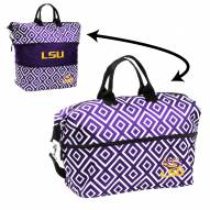 LSU Tigers Expandable Tote Bag