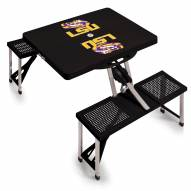 LSU Tigers Folding Picnic Table