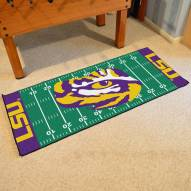 LSU Tigers Football Field Runner Rug