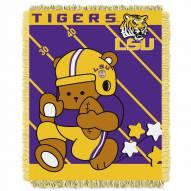 LSU Tigers Fullback Baby Blanket