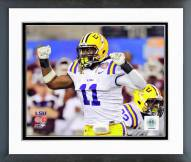 LSU Tigers Kelvin Sheppard 2011 Action Framed Photo