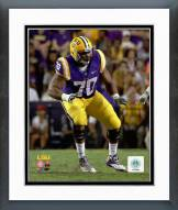 LSU Tigers La'el Collins 2014 Action Framed Photo