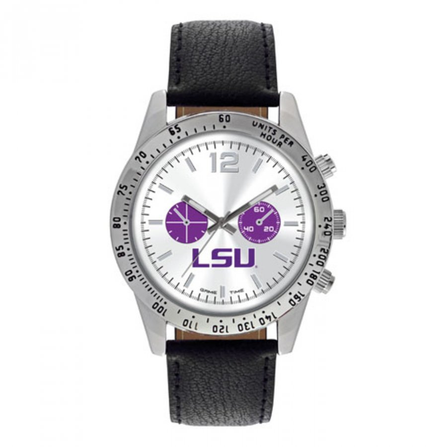 LSU Tigers Men's Letterman Watch