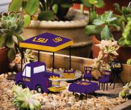 LSU Tigers Mini Tailgate Garden Set