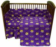 LSU Tigers NCAA Baby Crib Set