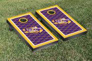LSU Tigers NCAA Border Cornhole Game Set