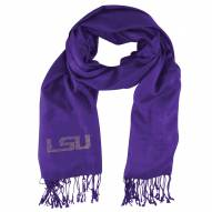 LSU Tigers Purple Pashi Fan Scarf
