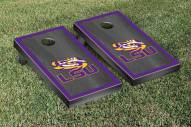 LSU Tigers Onyx Stained Border Cornhole Game Set