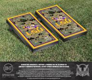 LSU Tigers Operation Hat Trick Border Cornhole Game Set