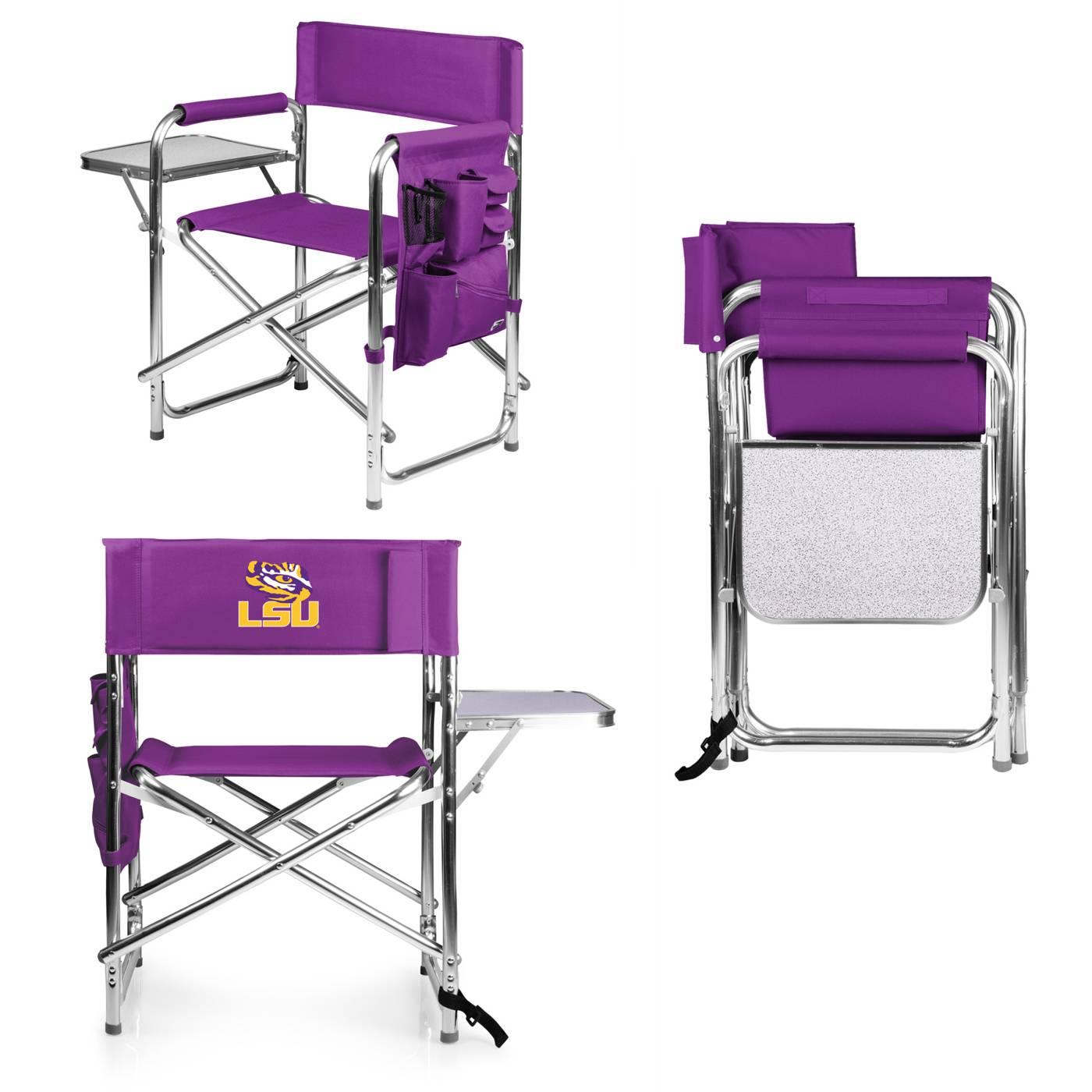 ... Lsu Folding Chairs By Lsu Tigers Purple Sports Folding Chair ...