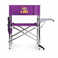 LSU Tigers Purple Sports Folding Chair