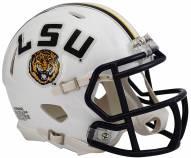 LSU Tigers Riddell Speed Mini Replica White Football Helmet