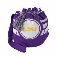 LSU Tigers Ripple Drawstring Bucket Bag
