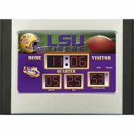 LSU Tigers Scoreboard Desk Clock