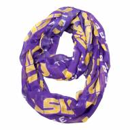LSU Tigers Sheer Infinity Scarf