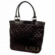 LSU Tigers Sport Noir Quilted Tote