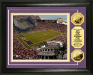 LSU Tigers Stadium 24KT Gold Coin Photomint