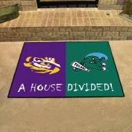 LSU Tigers/Tulane House Divided Mat