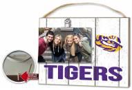 LSU Tigers Weathered Logo Photo Frame