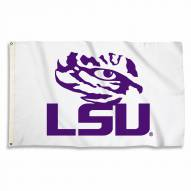 LSU Tigers White 3' x 5' Flag