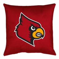 Louisville Cardinals NCAA Locker Room Toss Pillow
