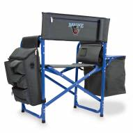 Maine Black Bears Gray/Blue Fusion Folding Chair