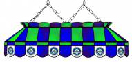 "Seattle Mariners MLB Team 40"" Rectangular Stained Glass Shade"