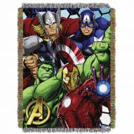 Marvel Avengers Best Team Throw Blanket