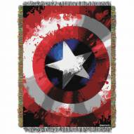 Marvel Comics Star Shield Throw Blanket