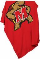 Maryland Terrapins Sweatshirt Blanket