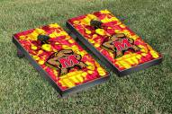 Maryland Terrapins Fight Song Cornhole Game Set