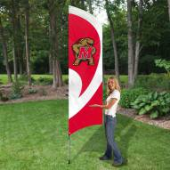 Maryland Terrapins NCAA Tall Team Flag
