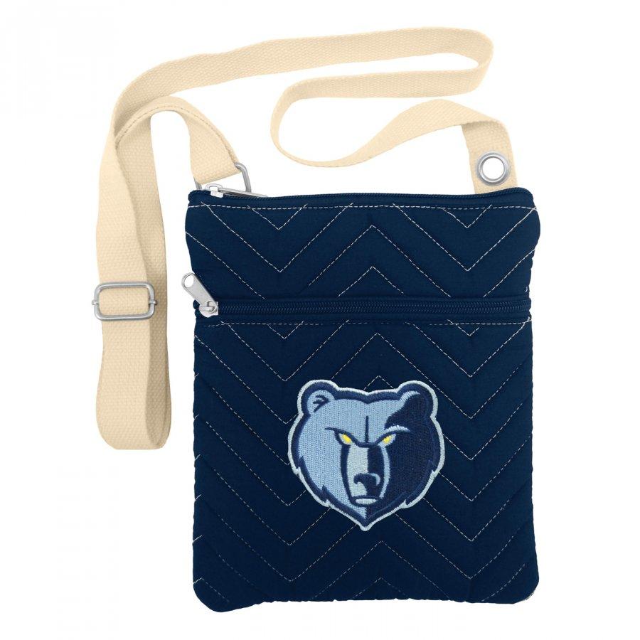 Memphis Grizzlies Chevron Stitch Crossbody Bag