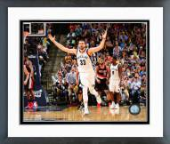 Memphis Grizzlies Marc Gasol 2014-15 Playoff Action Framed Photo