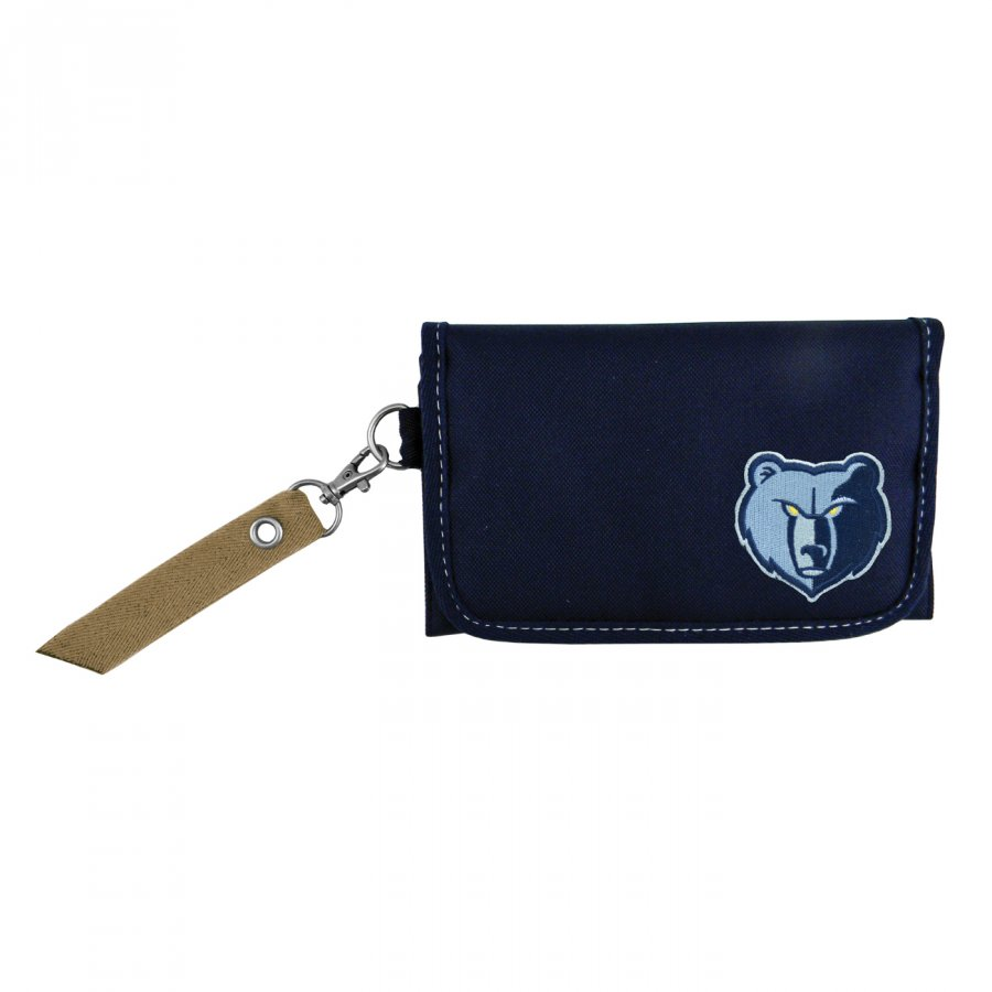 Memphis Grizzlies Ribbon Organizer Wallet