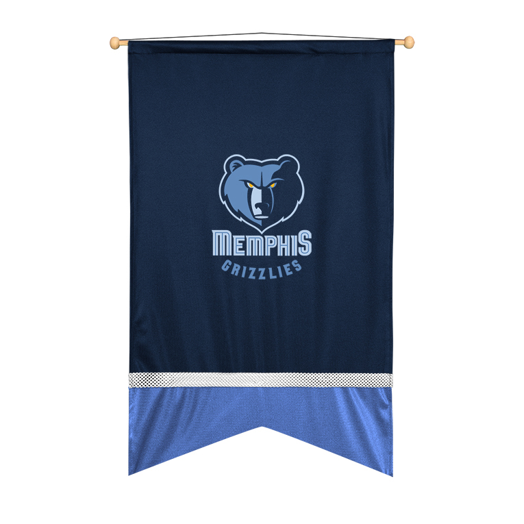 Memphis Grizzlies Sidelines Wall Flag