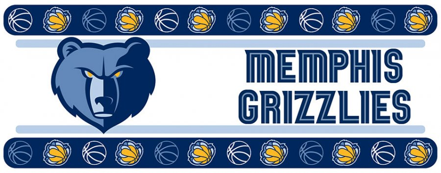 Memphis Grizzlies Wall Border