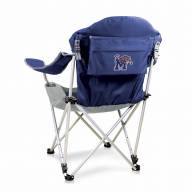 Memphis Tigers Navy Reclining Camp Chair