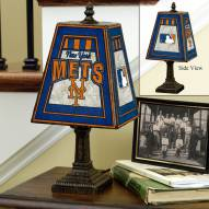 New York Mets MLB Hand-Painted Art Glass Table Lamp