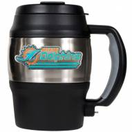 Miami Dolphins 20 Oz. Mini Travel Jug