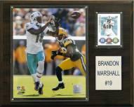 "Miami Dolphins Brandon Marshall 12 x 15"" Player Plaque"