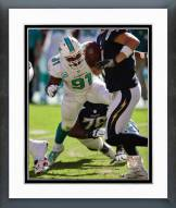 Miami Dolphins Cameron Wake 2014 Action Framed Photo