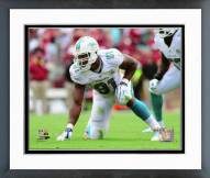 Miami Dolphins Cameron Wake 2015 Action Framed Photo