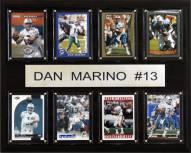 "Miami Dolphins Dan Marino 12"" x 15"" Card Plaque"