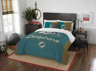Miami Dolphins Draft Full/Queen Comforter Set