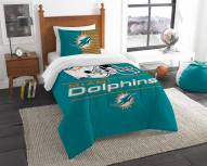 Miami Dolphins Draft Twin Comforter Set